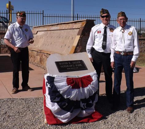 David K Allen Memorial Dedication