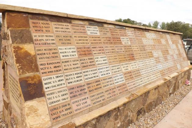 VFW 5181 Memorial Wall