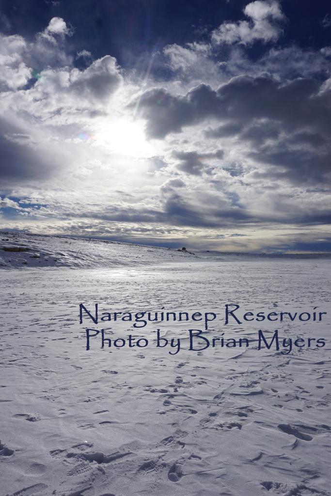 Ice Fishing at Naraguinnep Reservoir