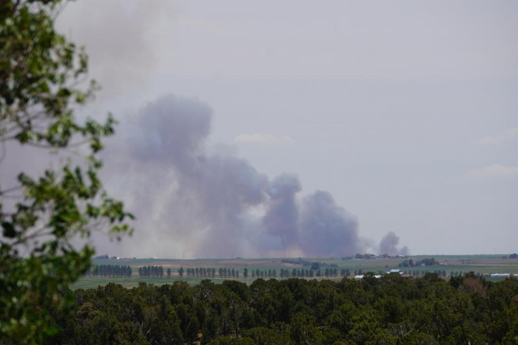 Wide Plume from Cahone by Brian Myers - 06/28/2020 Yellow Jacket