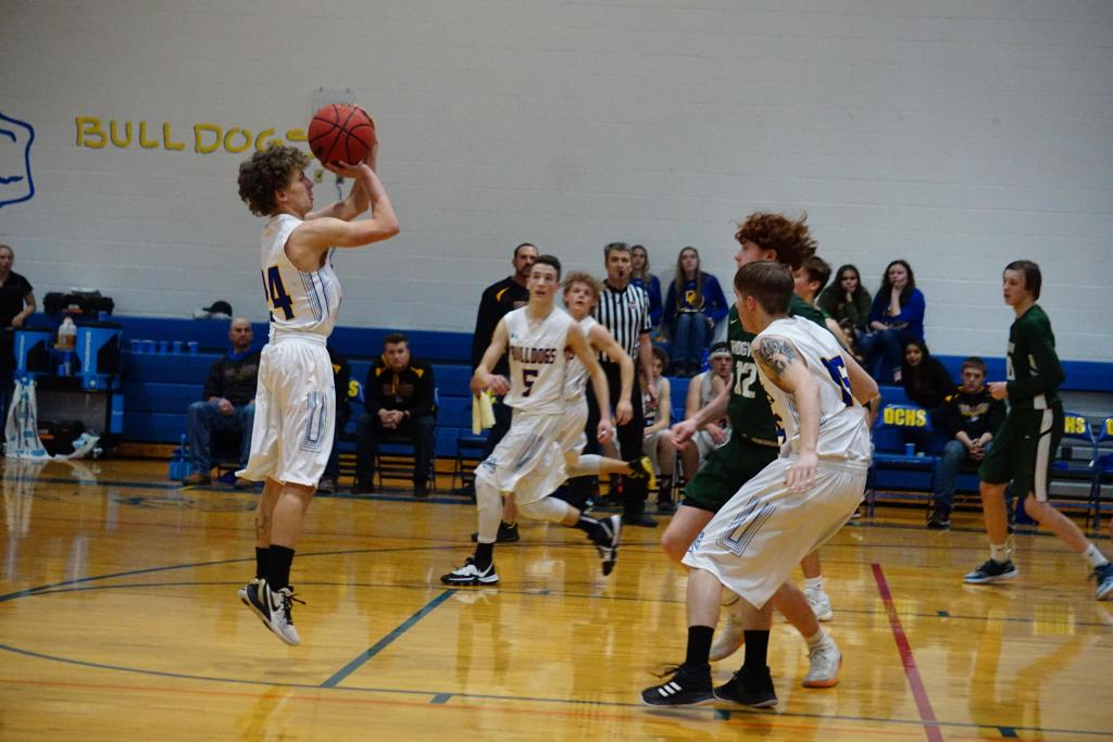 Photo by Brian Myers/Junior Gage Bailey (#24)