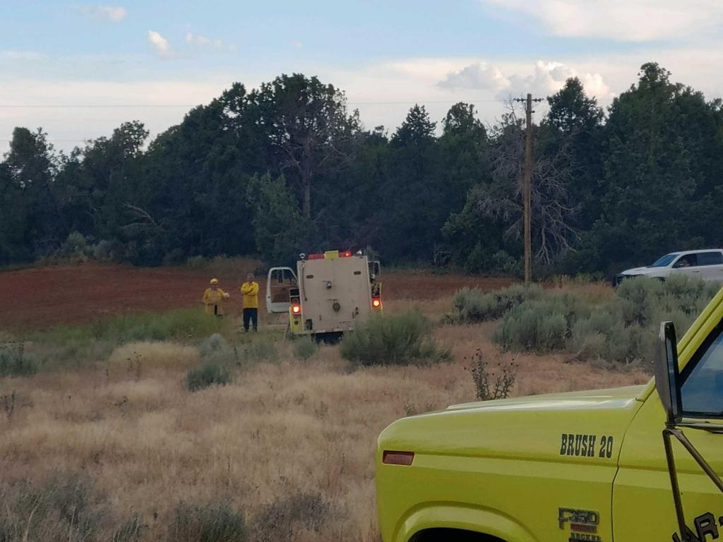Egnar-Slickrock Fire Department - Photo Courtesy of Rachelle King