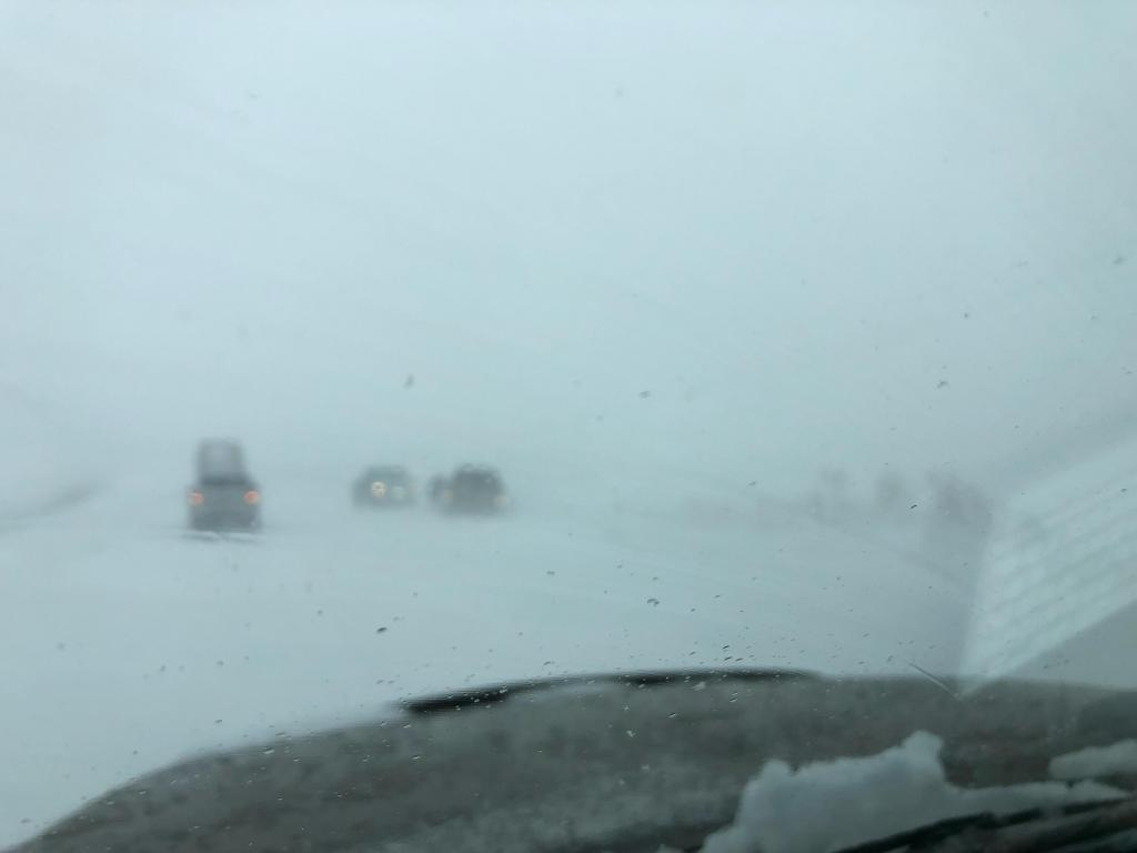 """White Out"" conditions in Hesperus"