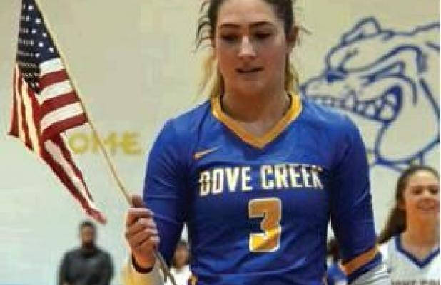 Teams Honor Veterans at Regionals Hosted by Dove Creek LadyDawgs