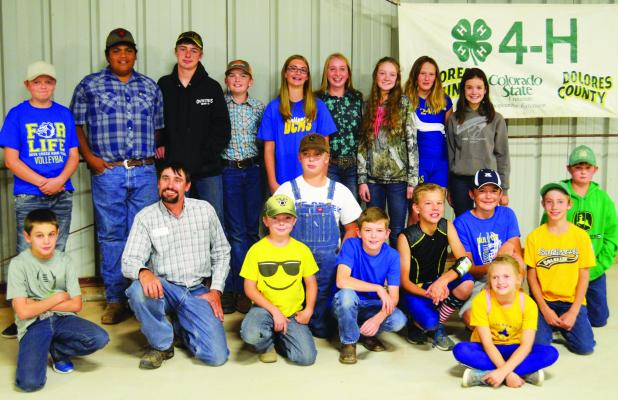 4-H Achievement Night - The 2019 Dolores County 4-H Club