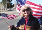 Dove Creek residents came together for a lunchtime